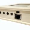 TV2 monitor ends showing sensor sockets