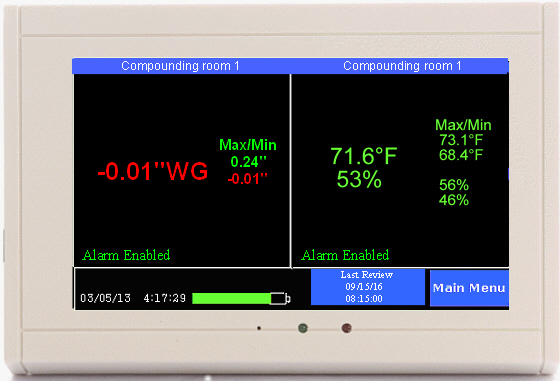 Room Pressure Monitor Review Cleanrooms And Isolation Rooms