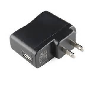 USB power adaptor for 120vac